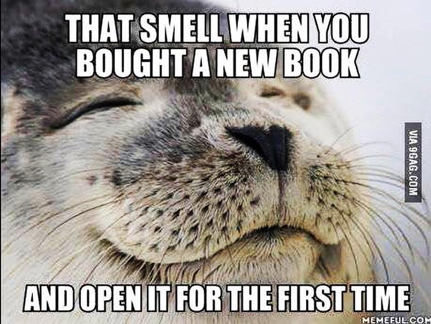 Meet the best smell on Earth: #amreading https://t.co/InJRc00gvH