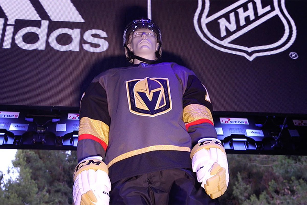 What do you think about the new uniforms? #VegasGoldenKnights  https:/...