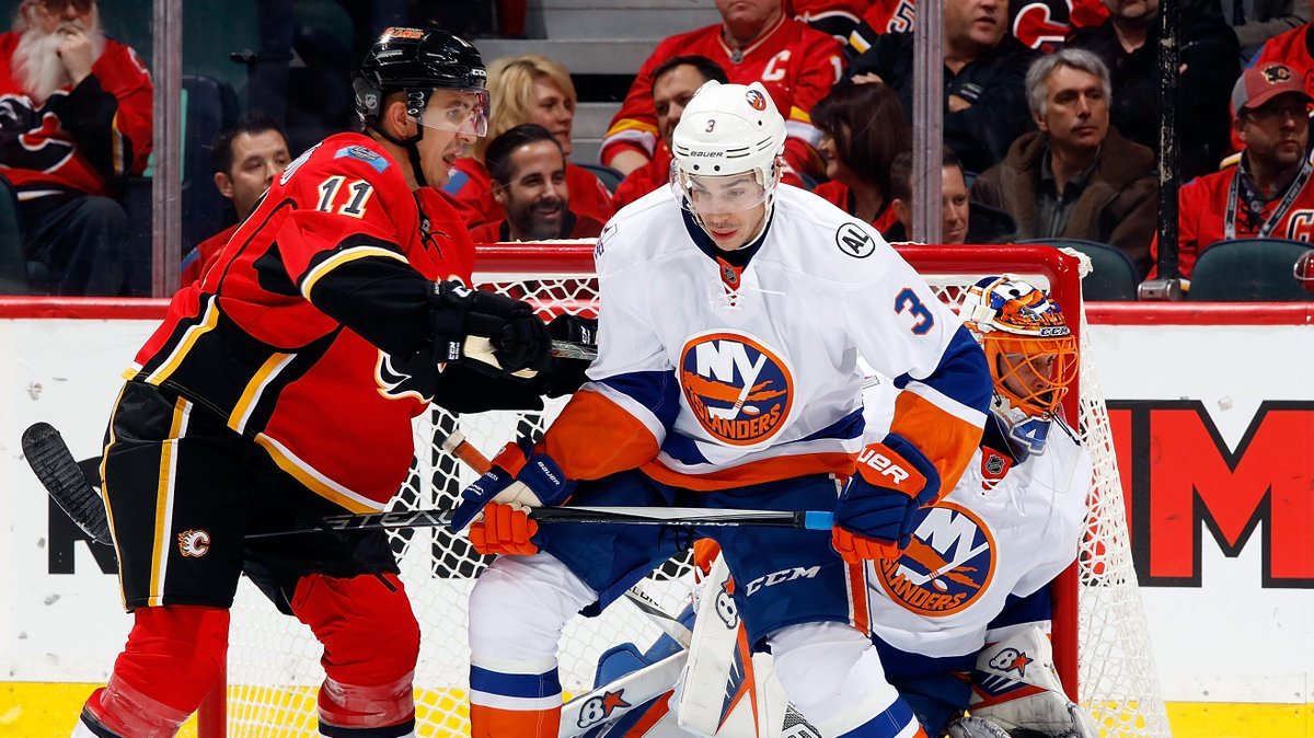 JUST IN: #Flames finalizing a deal to acquire D Travis Hamonic from th...