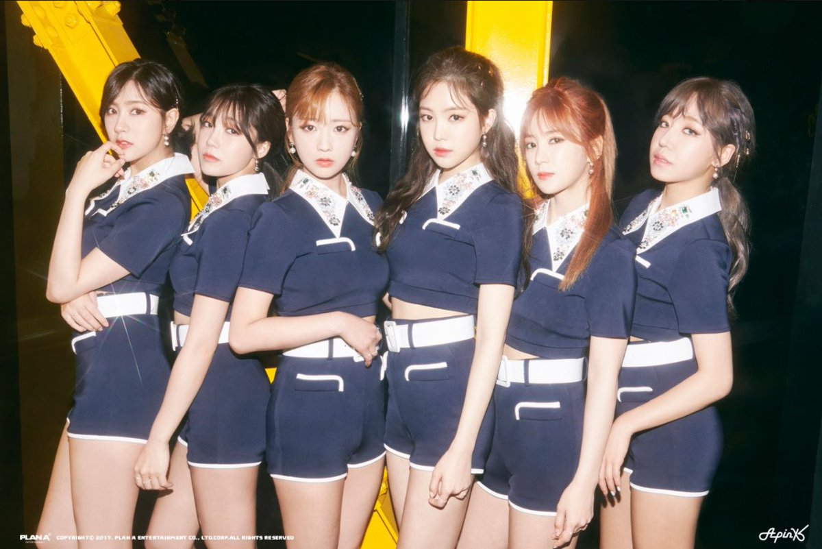 A Pink reveal 'Pink UP' group teaser images https://t.co/1rjGaW942k ht...