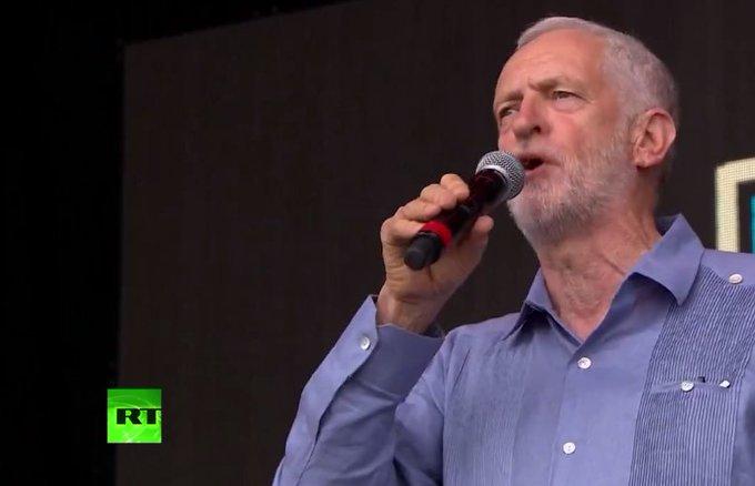 LIVE: Jeremy Corbyn gives speech at Glastonbury music festival https://t.co/HGdXrSF9Lw