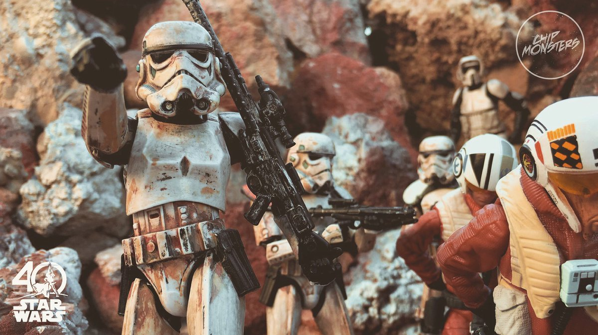 Time to take those REBELS to the cleaners #actionfigures #501st #StarWars #SaturdayMorning #Stormtrooper #MTFBWY @BatJu75 @Genxwing @EByzio<br>http://pic.twitter.com/jTqR6vJeIK