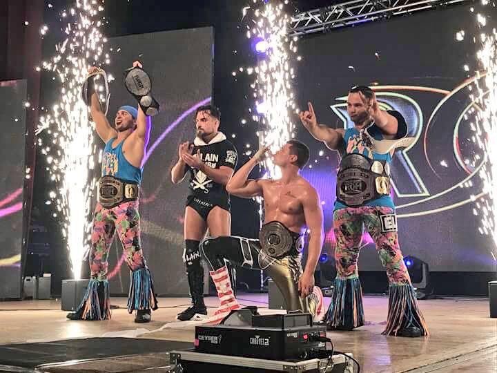 Everyone is congratulating Cody Rhodes on his ROH World championship h...