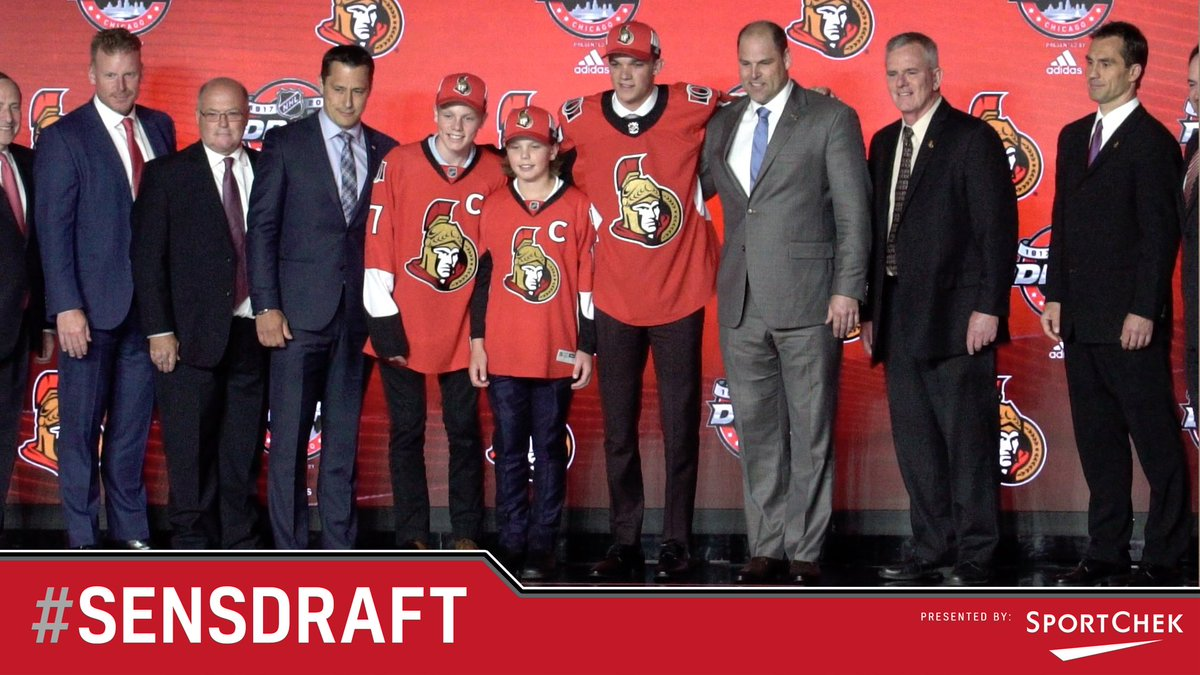 Go behind the scenes for Day 1 of the #NHLDraft and see the #Sens sele...