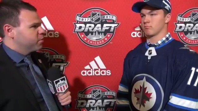#NHLDraft | Dylan Samberg discusses being selected 43rd overall by the...