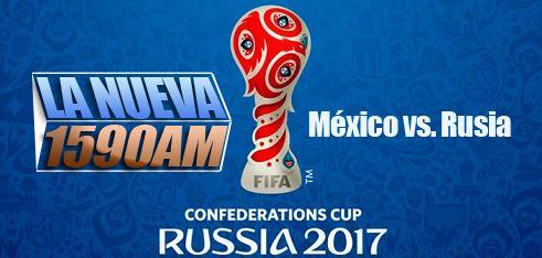 partido de futbol mexico vs rusia