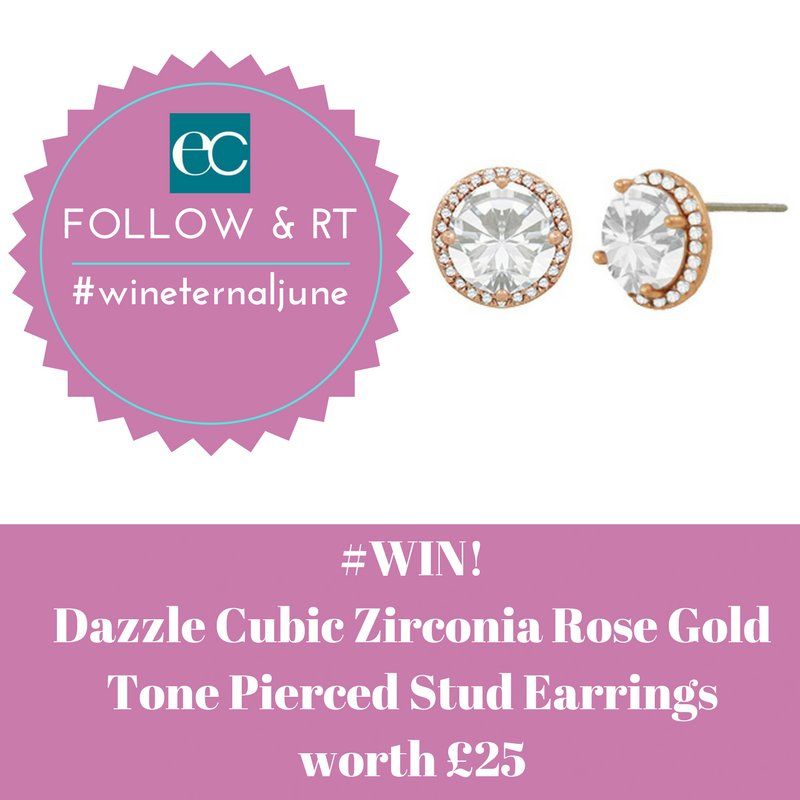 June #Giveaway! #Follow #RT to #win Beautiful Cubic Zirconia Rose Gold Tone Pierced Earrings #wineternaljune UK Only ENDS 30/6/17<br>http://pic.twitter.com/iEorBzKgs4