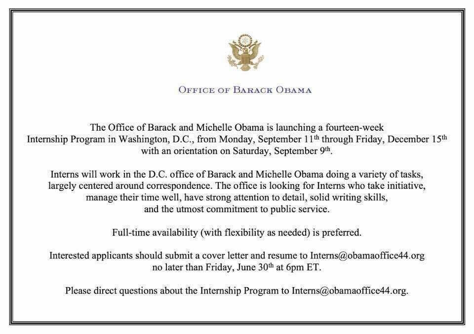 #SMTX Residents and #TXST Students take advantage of the opportunity of a lifetime. Intern for @BarackObama and @MichelleObama #Share #BLMSM<br>http://pic.twitter.com/0N9zQ2529o