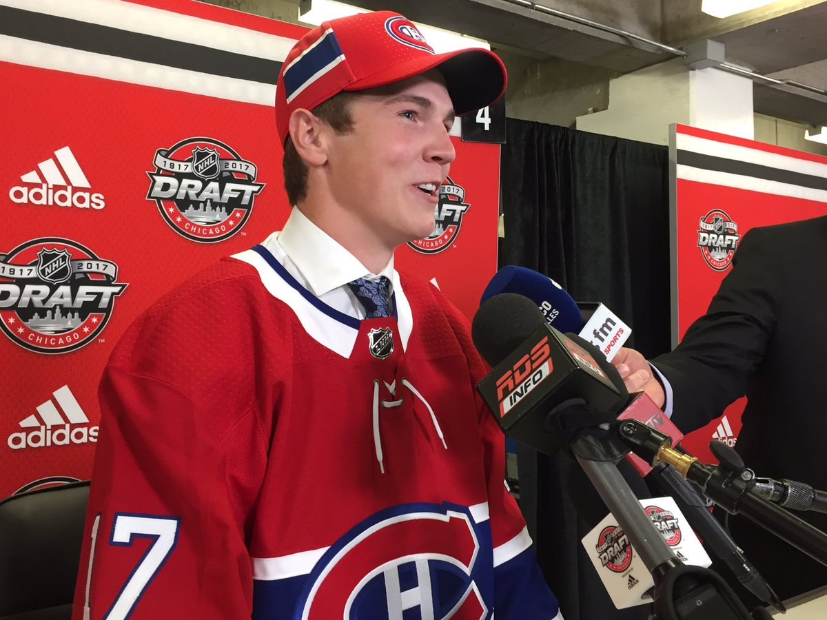 87TH OVERALL PICK #CANADIENS HAVE SELECTED (DEF) CALE #FLEURY #WHL s KOOTENAY ICE #MONTREAL #HABS #QUEBEC #NHL #LNH #GOHABSGO #MTL #NHLDraft<br>http://pic.twitter.com/a2DRo48Rjg