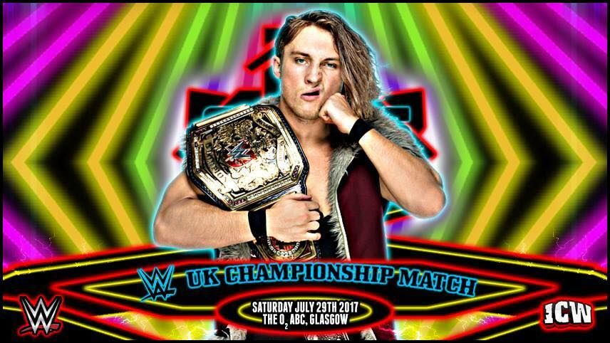 Pete Dunne to defend WWE United Kingdom championship in ICW https://t....