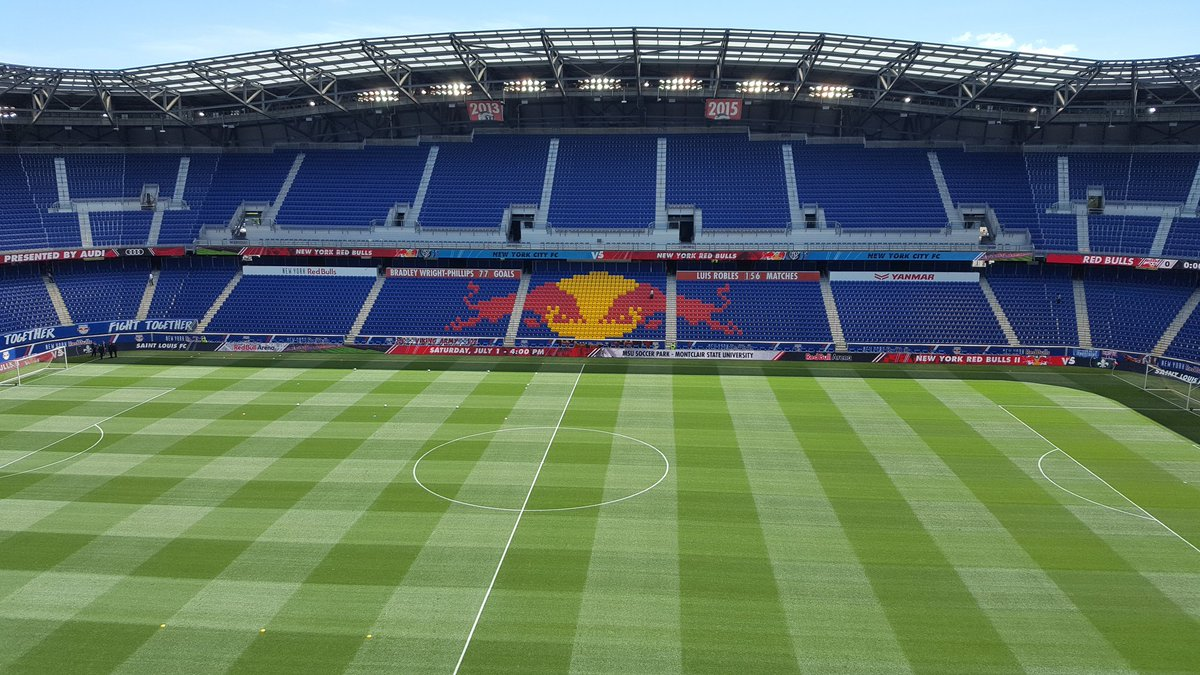 Lot of rain earlier but clear now & great day for a derby...Red Bulls v NYCFC, 130 ET on FOX. Join me, ,  &@TMeola1 @JOYPAULIAN@Katie_Witham