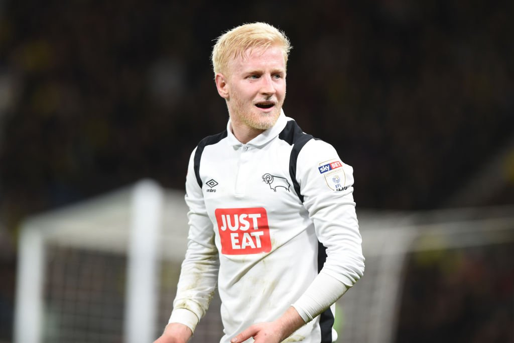 DONE DEAL: Watford have confirmed the signing of Will Hughes from Derb...