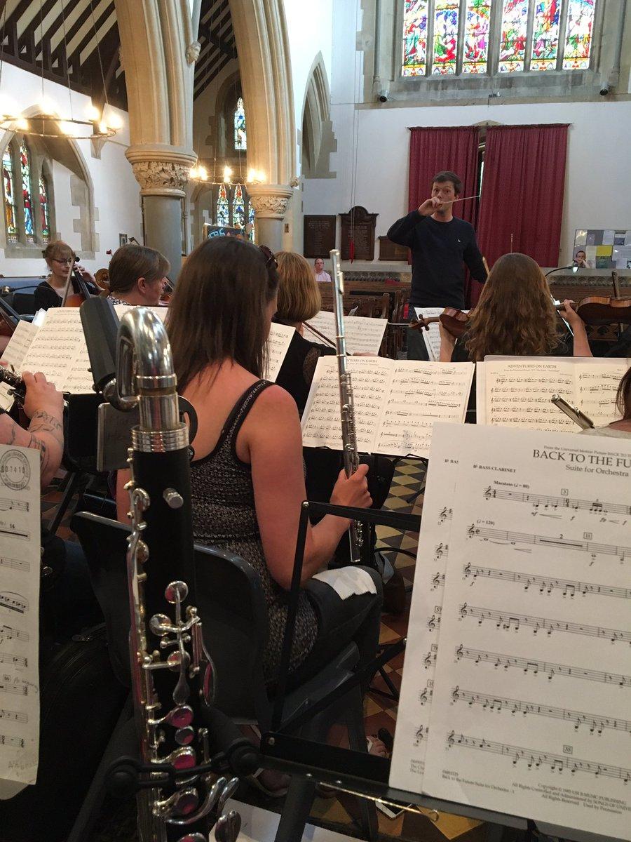 Rehearsal @TheFilmOrchUK for tonight&#39;s concert @jackcampey #tenburywells #filmmusic #orchestra #clarinet <br>http://pic.twitter.com/vH3Y55tss1