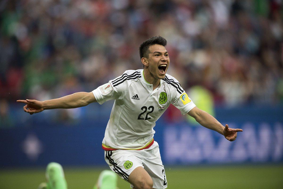 RT Si festejaron igual cuando cayó el gol de @HirvingLozano70...  🙌🏼🙌🏼...