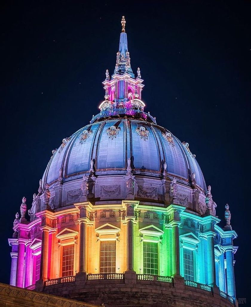 From Instagram: San Francisco lights up for Pride. Thanks @gcmak for this great shot!  #regram #pride #sanfrancisc…  http:// ift.tt/2s2Tb7G  &nbsp;  <br>http://pic.twitter.com/L2CayHxia4