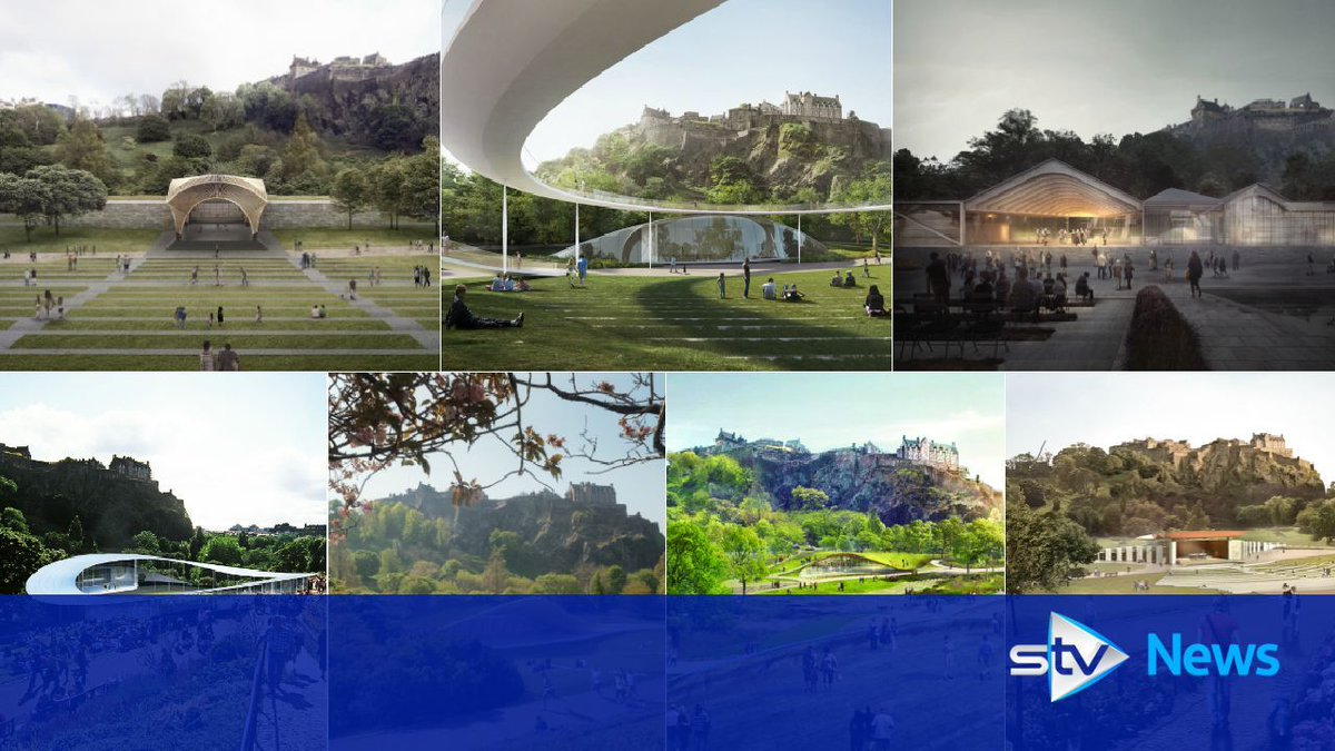 Design plans for Edinburgh's new Ross Bandstand revealed https://t.co/TKKSQLO31I