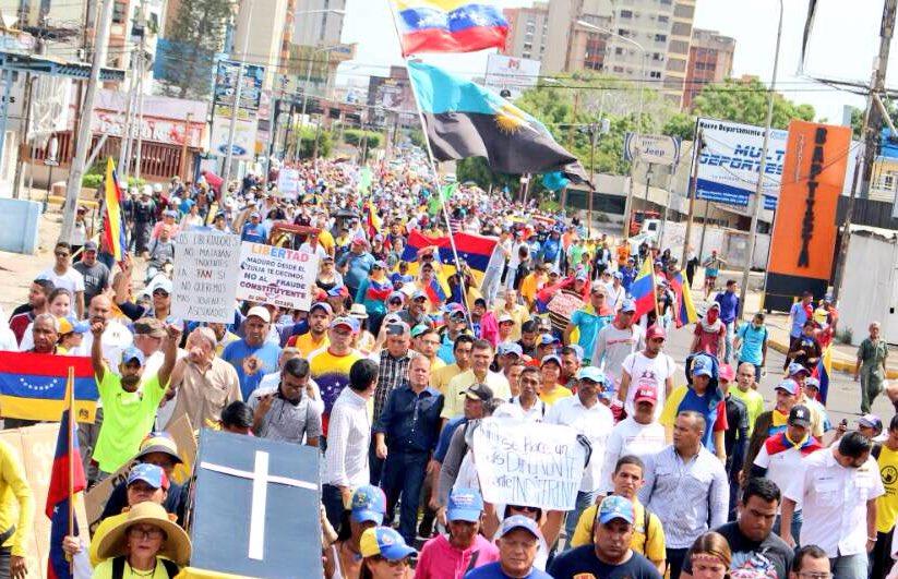 #24Jun El Zulia salió a las calles para decirle a la FAN que Venezuela...