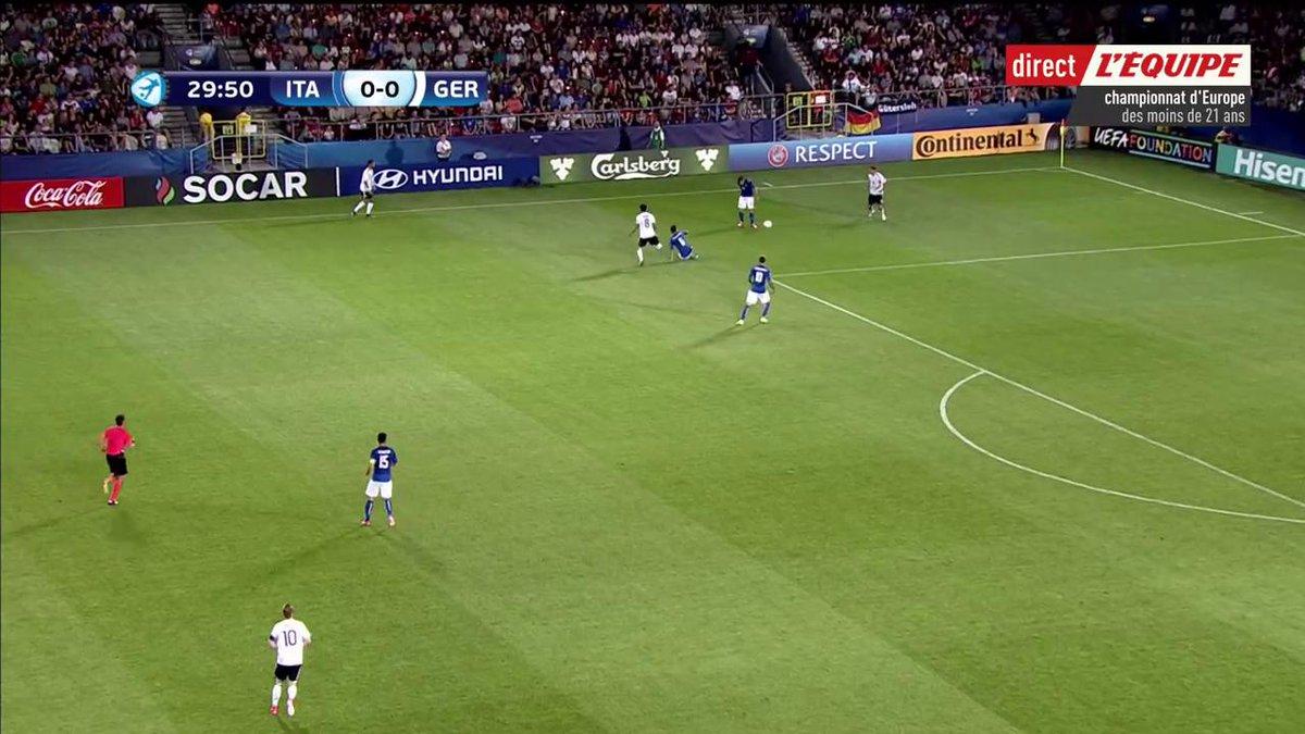 ⚽️ BUT ! L'Italie mène 1-0 grâce à ce but de Federico Bernardeschi ! #...