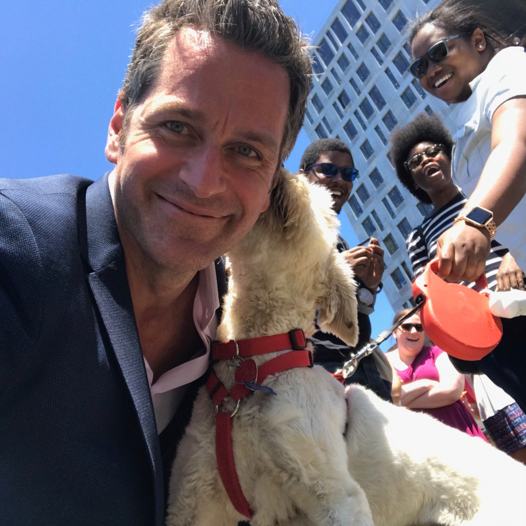 Getting some love at #BingeYounger @Refinery29 ! The pooch's name? Cha...