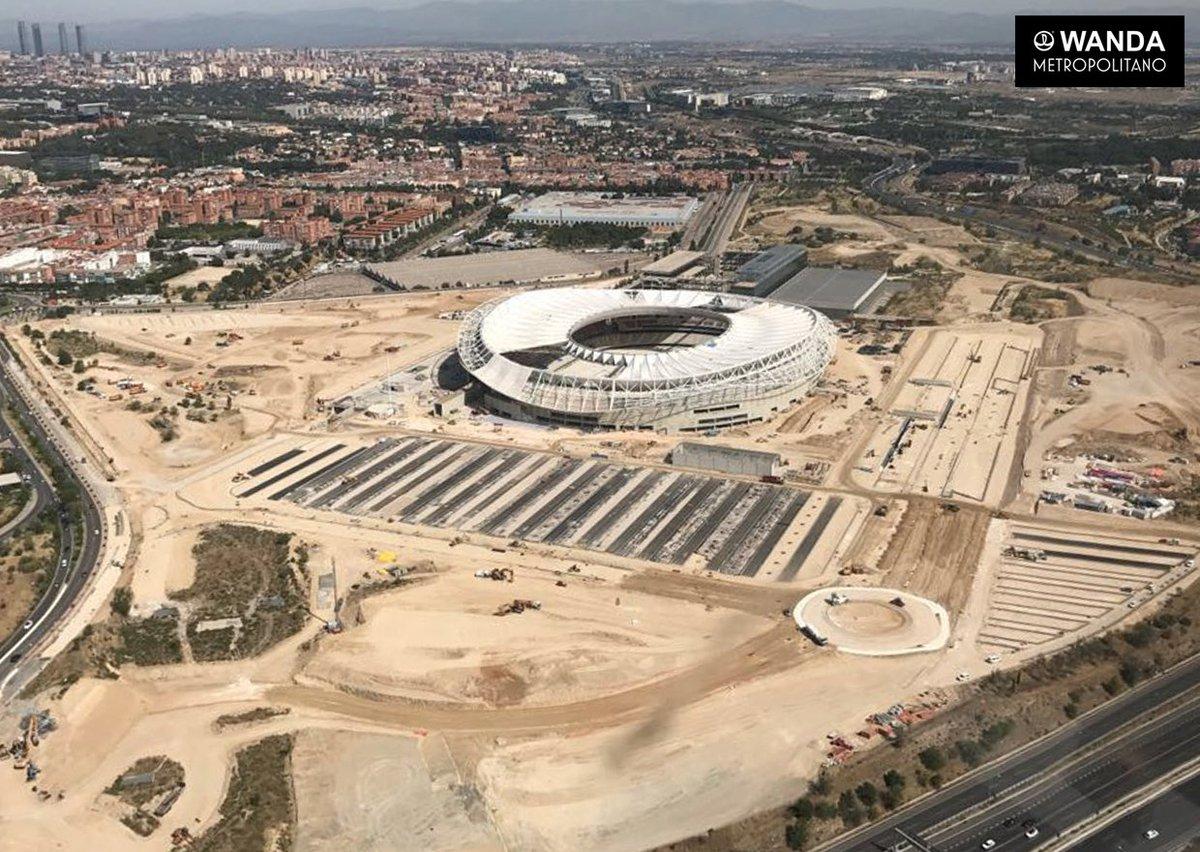 📸 FOTOGALERÍA. ¡Así se ve el estadio desde el cielo! 🚁😀 https://t.co/2...