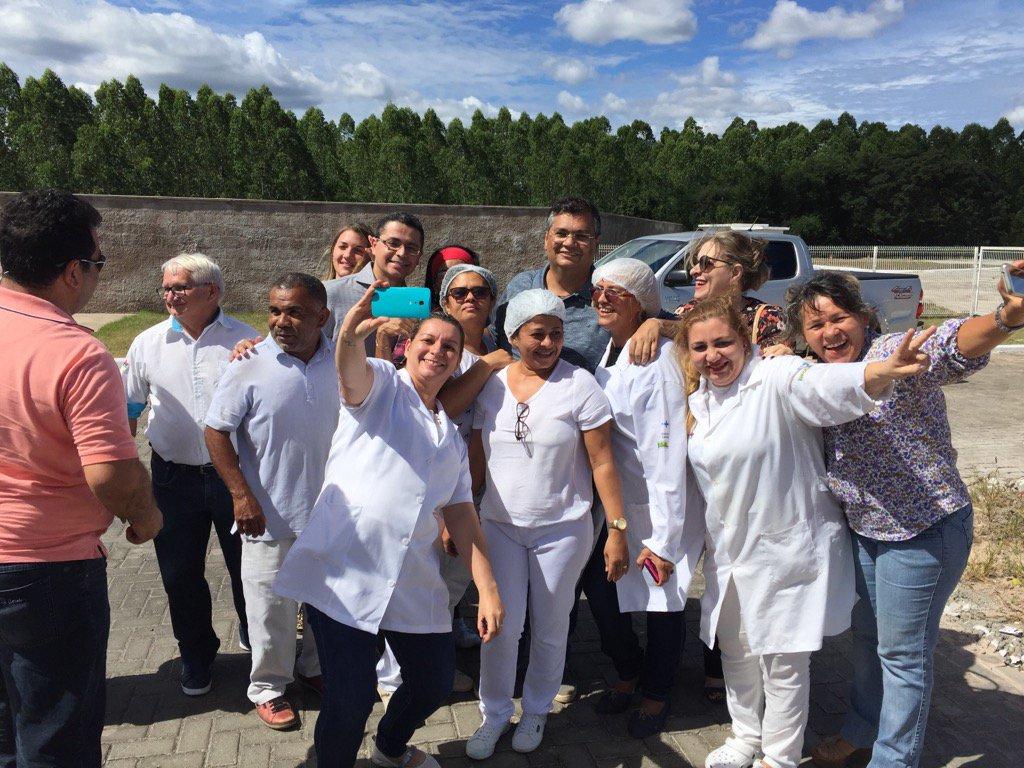 Depois de ótimas agendas em São João do Sóter, breve visita ao grande Hospital que mantemos em Caxias.