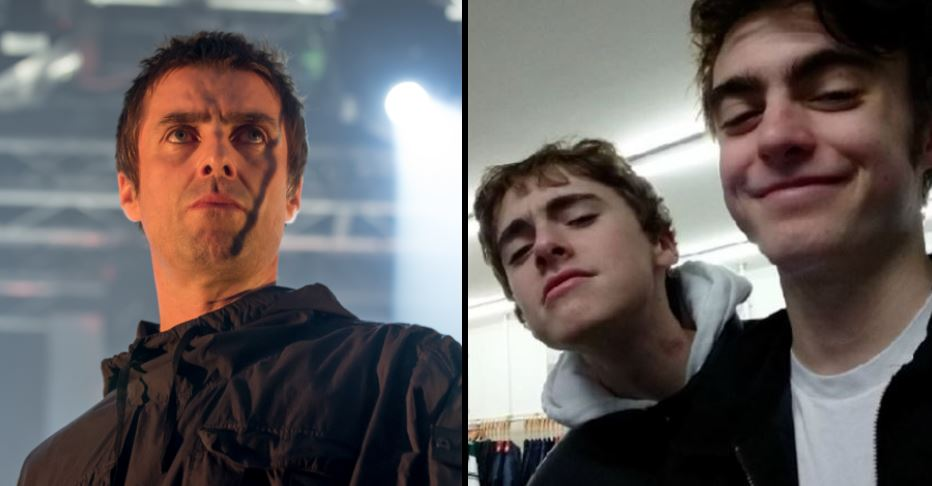 Liam Gallagher responds to 'his sons doing drugs at Glastonbury' in ty...