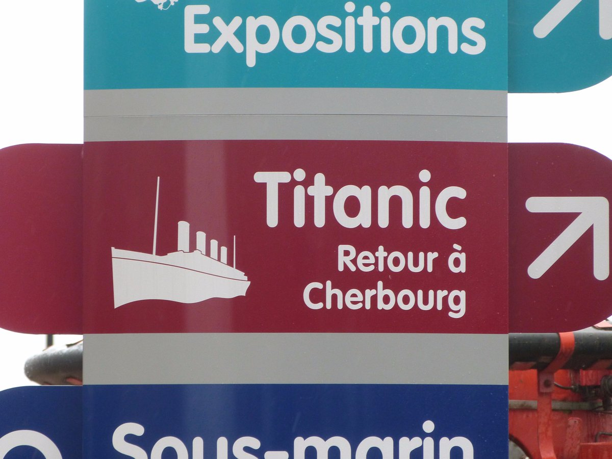 #Cherbourg few years ago. #Titanic<br>http://pic.twitter.com/bMbEkz5p3O