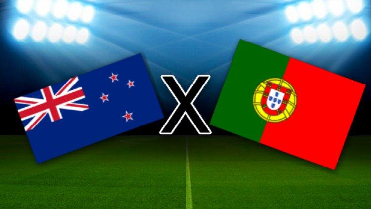 GOOOOOLLLLL!!! Nos acréscimos, Nani faz o 4º gol de Portugal sobre a Nova Zelândia. VEJA: https://t.co/4DmDQkWOch