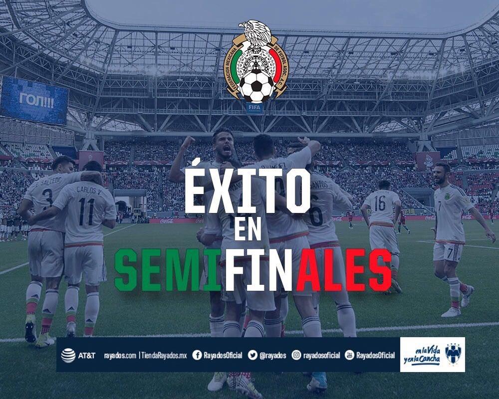 ¡Éxito en semifinales, @miseleccionmx! #SomosMéxico 🔵⚪️🇲🇽 https://t.co...