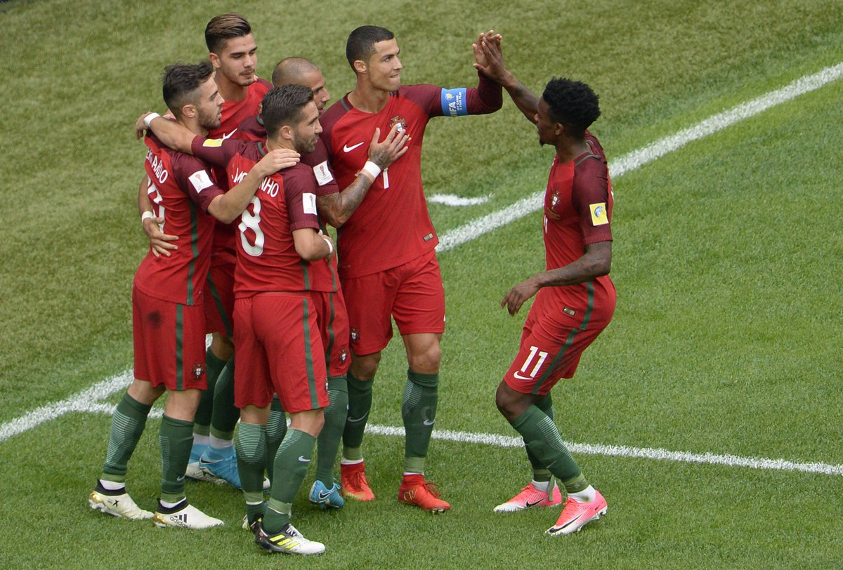 🇳🇿 0-4 🇵🇹 🇲🇽 2-1 🇷🇺  Portugal and Mexico both qualify for the Confeder...
