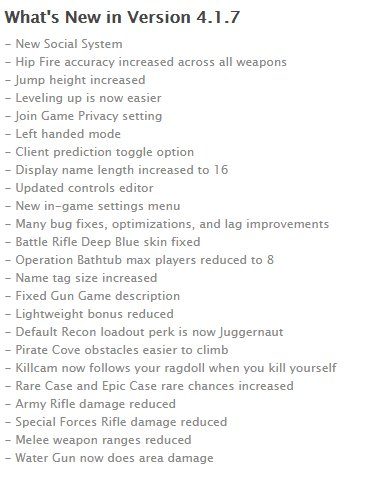 NEW IOS UPDATE! Pixel Strike 3D 4.1.7 is now available on #iOS! <br>http://pic.twitter.com/nABmz5E3ud