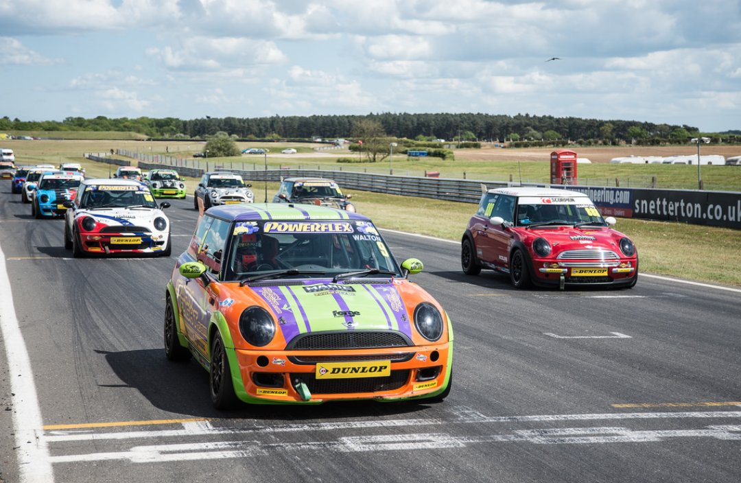 Cannot wait to get started racing in the @MINIChallengeUK for the rest of the season with @Excelr8M ! #newstart <br>http://pic.twitter.com/dRQY0vjxf9