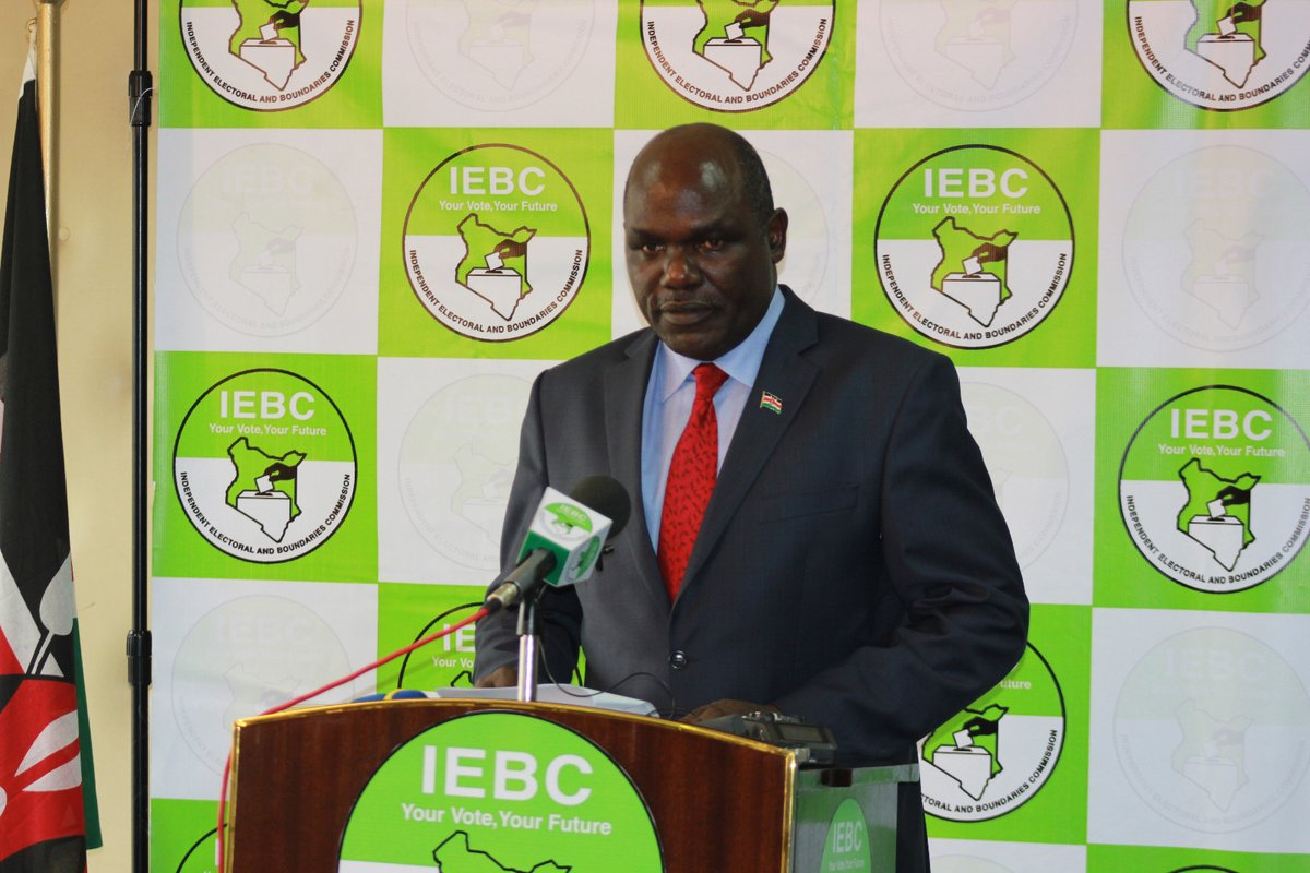 IEBC won't contest Court of Appeal ruling https://t.co/C84Vz4Baye