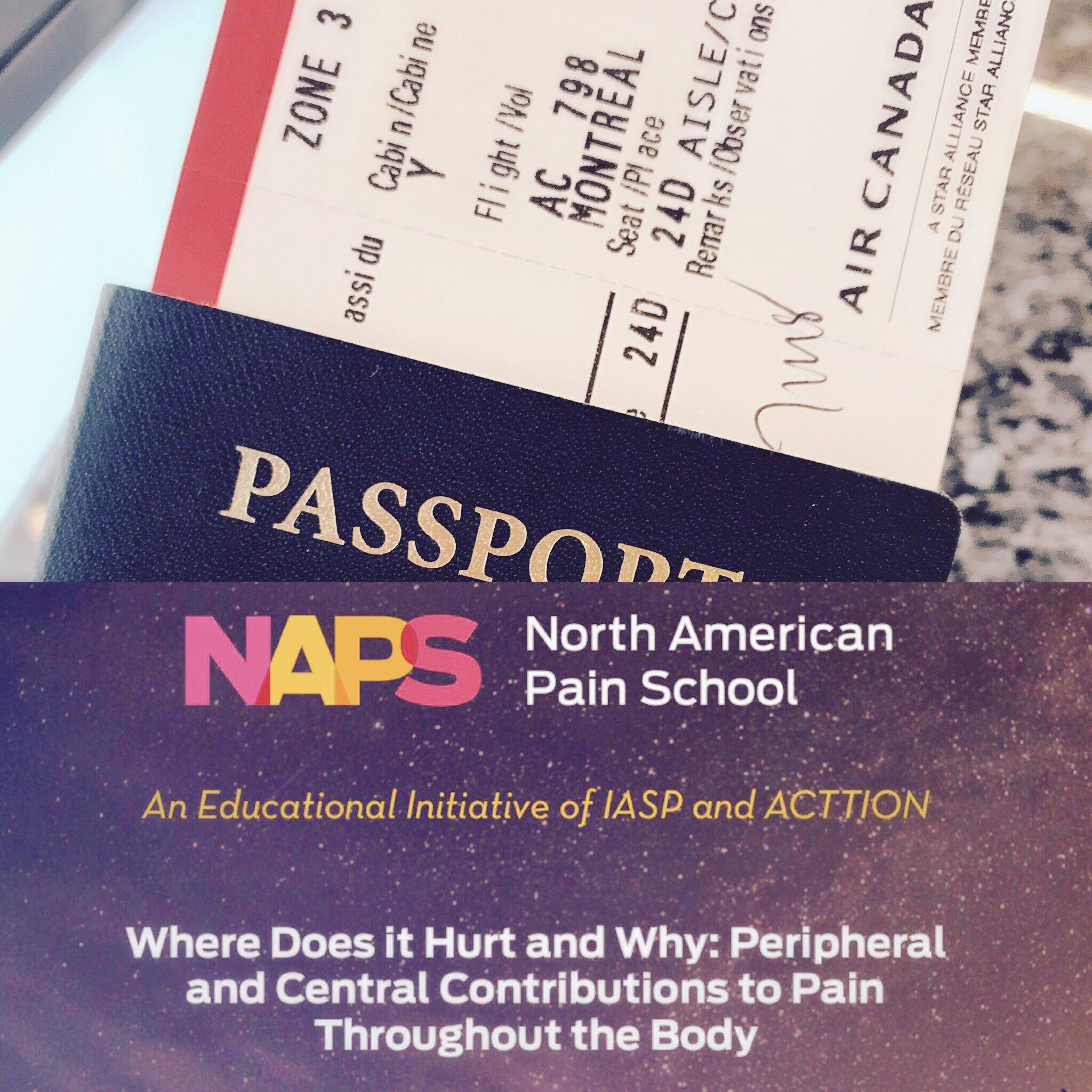 Off to #NAPainSchool! So grateful for this opportunity @NAPainSchool @rqrd_qprn @IASPPAIN @PainResForum @fairmontmontebello #luckyresearcher https://t.co/qVu7bW7lQ4