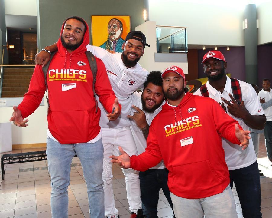 Take a look at Rookie Week in Kansas City.  Photos ➡️ https://t.co/dkp...