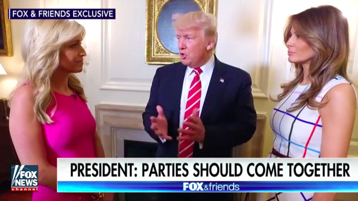 #Trump giving ON-CAMERA interviews to.@FoxNews but not the Public.US Prez or #FoxNews Prez? #TheResistance #CNN #MSNBC <br>http://pic.twitter.com/Xw08Abtnnv