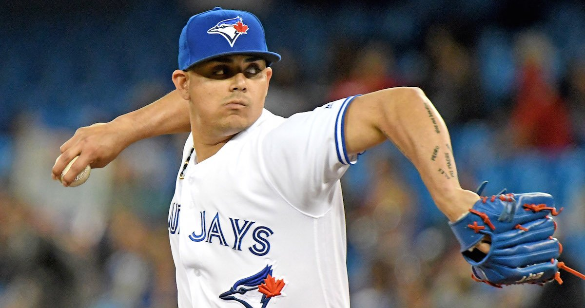 Roberto Osuna hasn't been available recently because he has been feeli...
