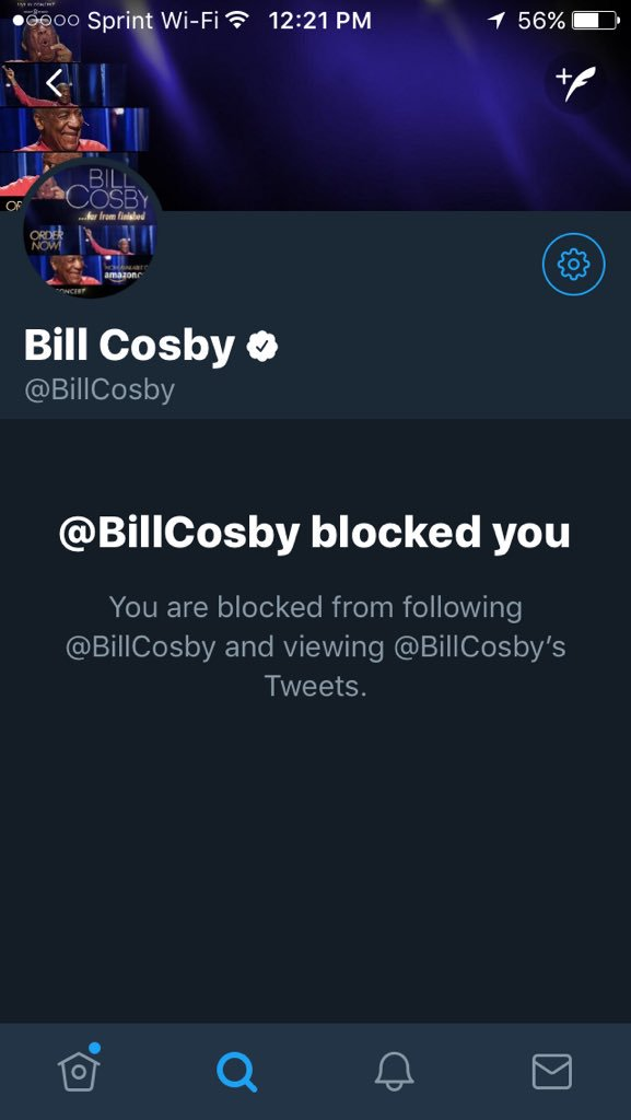 Because @billCosby drugged women, they could not block his advances. He has no problem blocking his critics on Twitter. #Coward #Predator<br>http://pic.twitter.com/L6KOcLJTpY