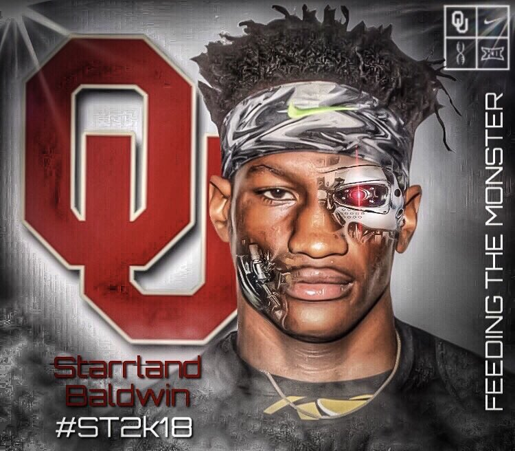Best DB in Texas. @BaamBfam   And he's a #Sooner 😈⭕️🙌🏼🔥🔥🔥#ST2k18   @Co...
