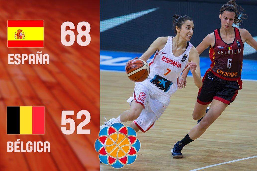 Semis 🇪🇸🆚🇧🇪  #EuroBasketWomen2017  Este equipo vuelve a hacer historia...