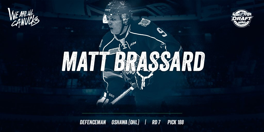 .@Matt_Brassard9, the #Canucks welcome you. Thrilled to have you as pa...