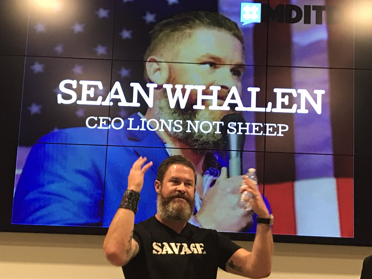 &quot;We don&#39;t erect statues for people who got knocked down and never got back up.&quot; @Sean_Whalen #truth #vulnerability #MDITD<br>http://pic.twitter.com/jFAQC3HKlk