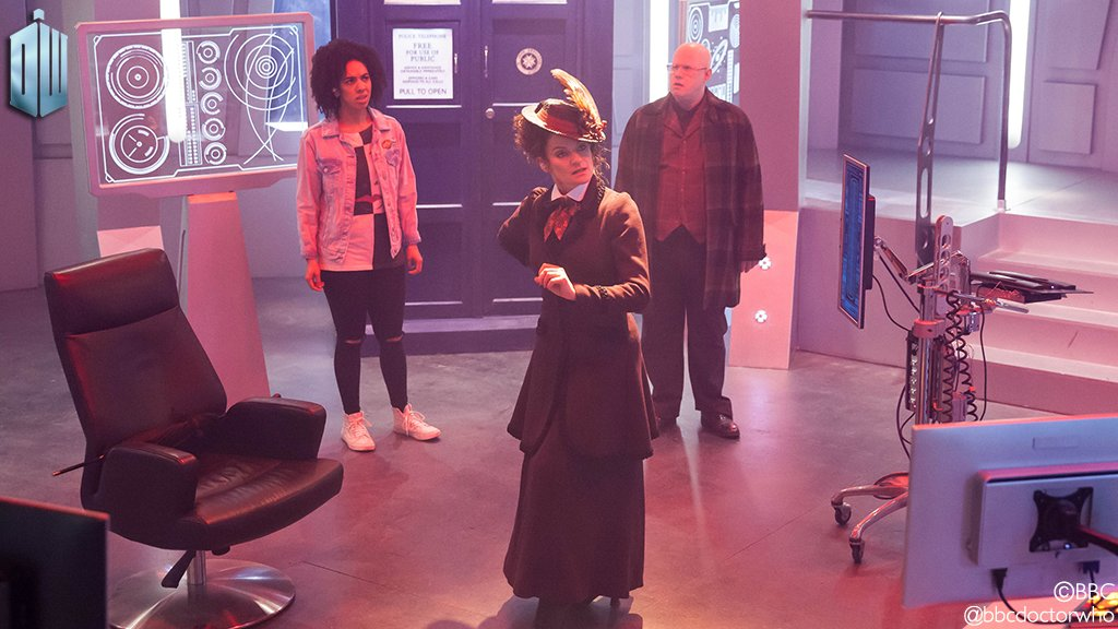 Doctor Who will see you now. #DoctorWho https://t.co/fJzWCBRN03
