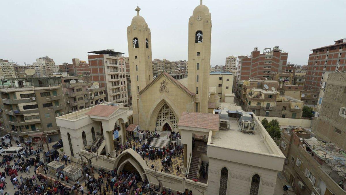 Un attentat contre une église déjoué en Egypte https://t.co/IYKJxXvB6u
