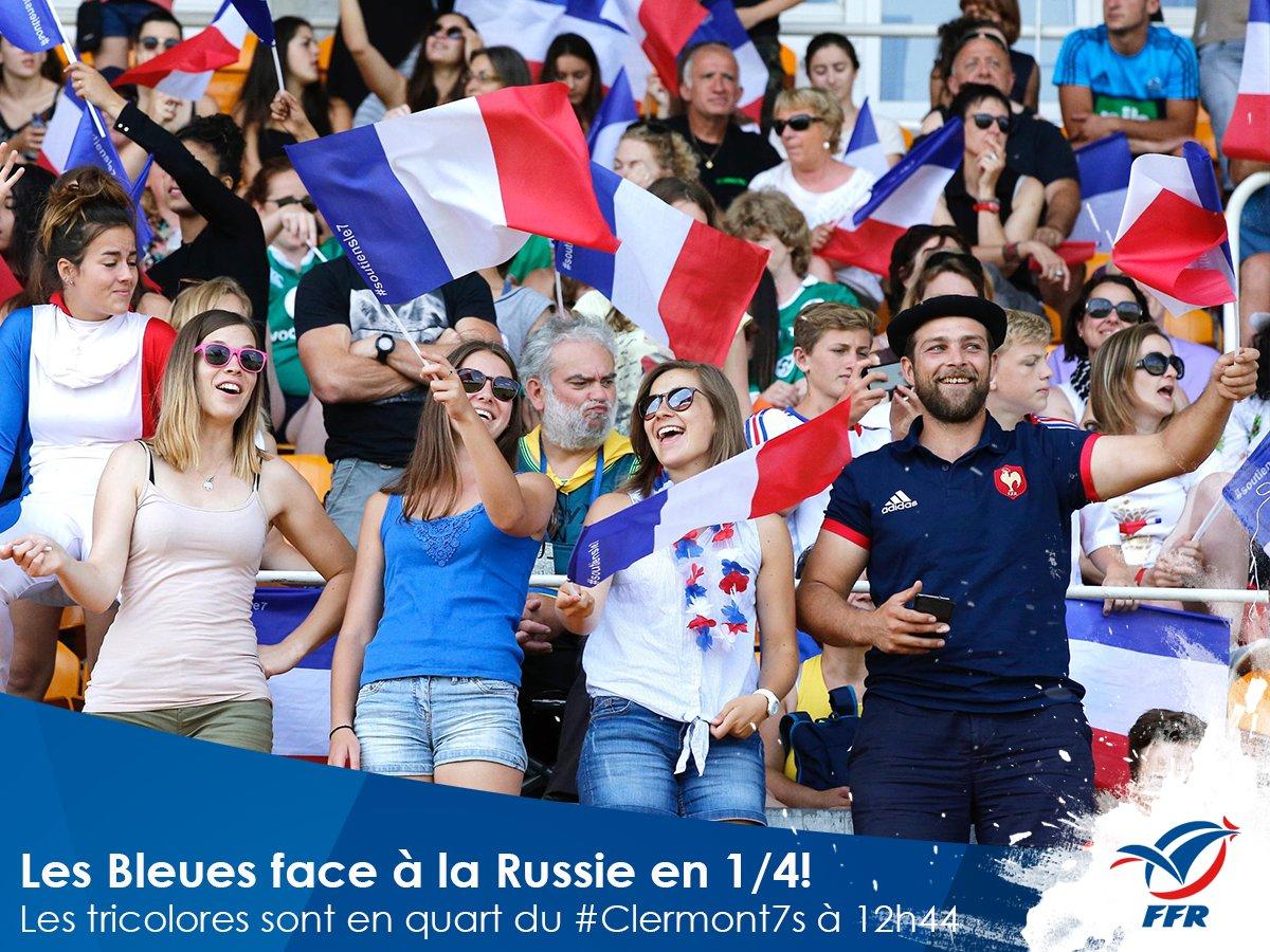 #France7Féminines Les Bleues rencontreront la Russie demain à 12h44, e...
