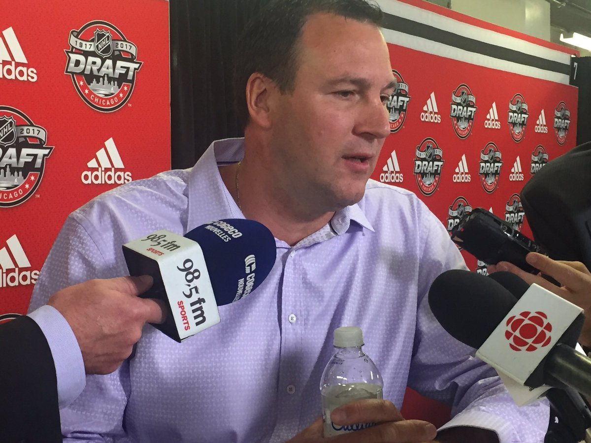 'We couldn't be happier.' - Keith Primeau on Cayden being selected by...