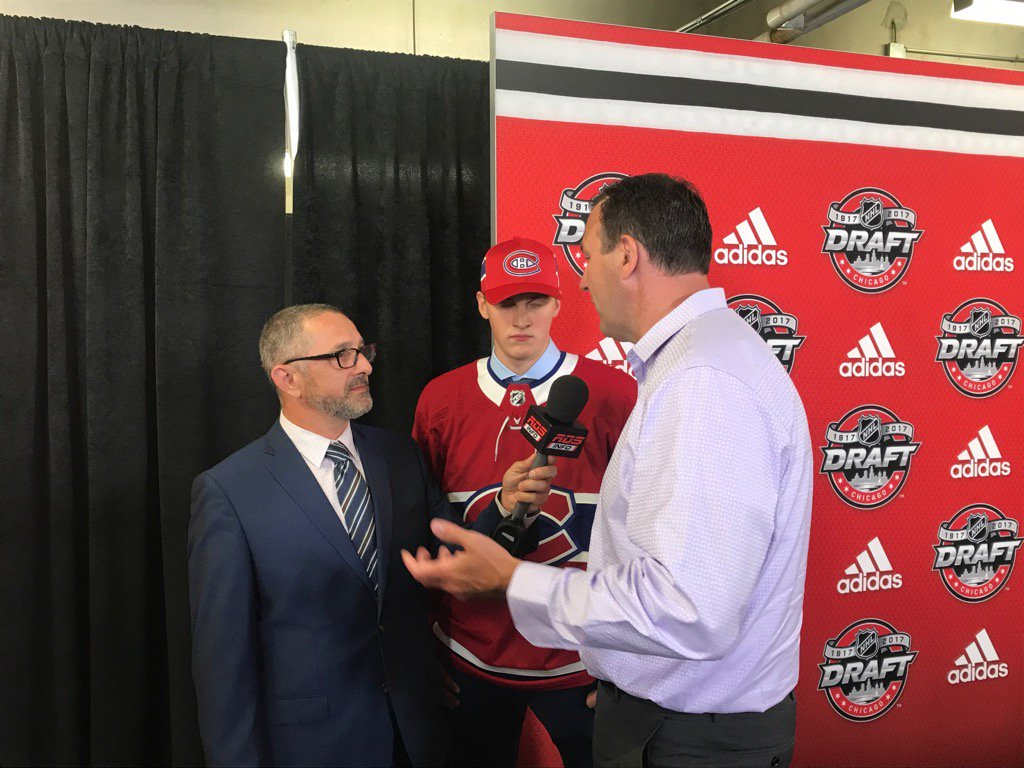 Cayden and Keith Primeau. Proud moment. #2017NHLDraft https://t.co/3k2...