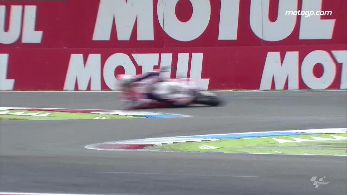 Crash, run, #MotoGP!💢🏃🏍️  @Reddingpower will sleep well tonight!😅 http...