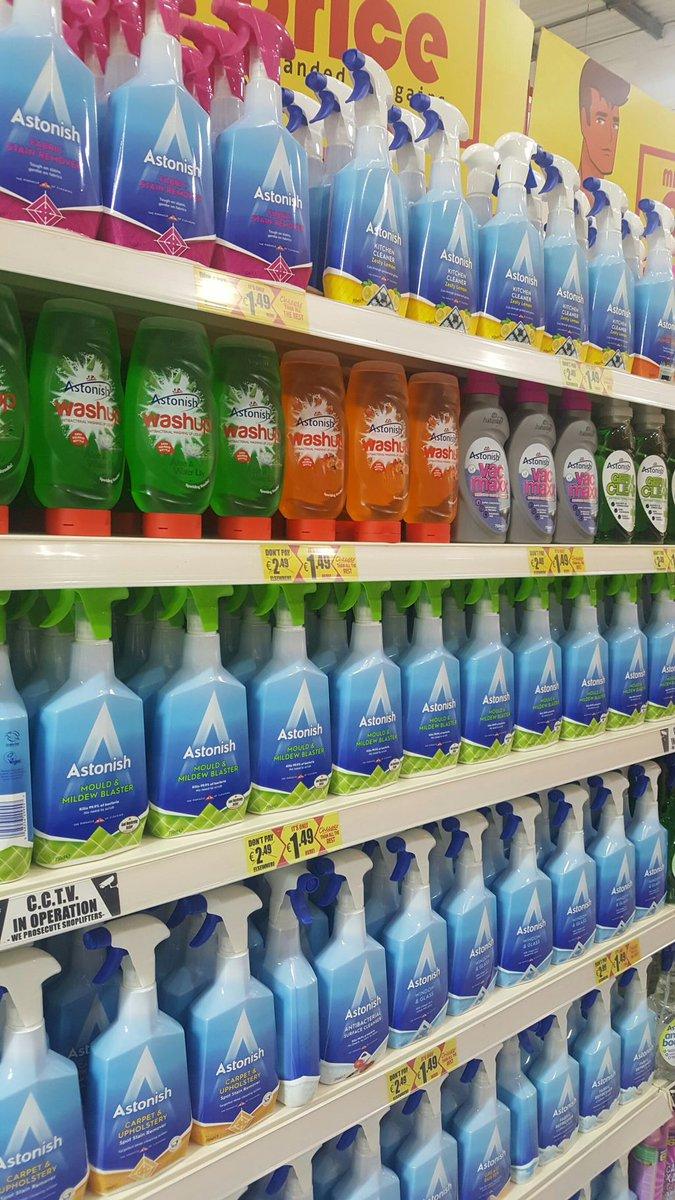 New packaging same GREAT product  #AstonishCleaning #Range #AmazingValue @Astonishcleaner <br>http://pic.twitter.com/eZRLTl4par