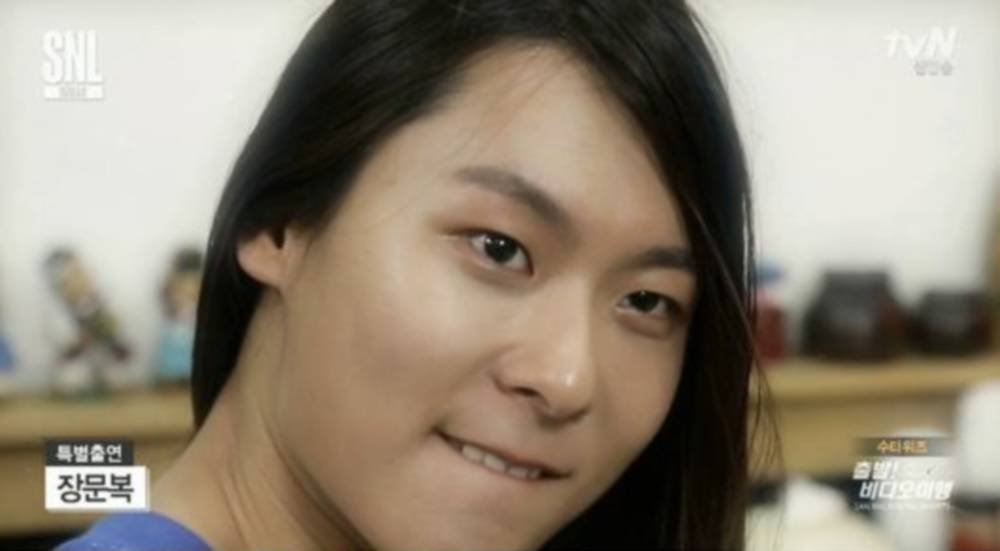 'Produce 101's Jang Moon Bok brings out his acting chops on 'SNL Korea...
